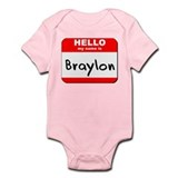 Hello my name is Braylon Onesie