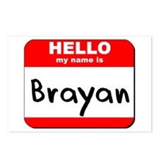 Hello my name is Brayan Postcards (Package of 8)