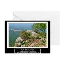 Difficulty Motivational Greeting Cards (Pk of 20)