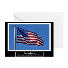 Freedom Motivational Greeting Cards (Pk of 20)
