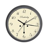 &quot;6:17&quot; Wall Clock