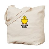 Welder Chick Tote Bag