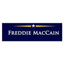 Freddie MacCain Bumper Bumper Sticker