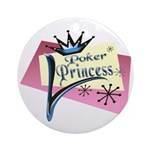 Poker Princess Keepsake (Round)