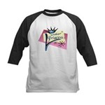 Poker Princess Kids Baseball Jersey