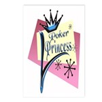 Poker Princess Postcards (Package of 8)
