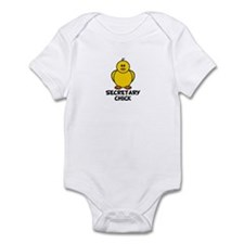 Secretary Chick Infant Bodysuit