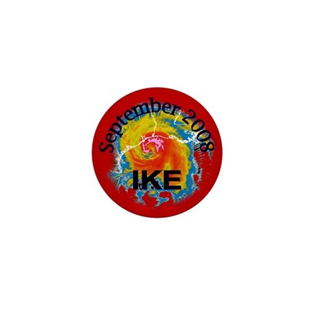 Hurricane Ike Mini Button (100 pack)