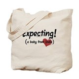 Expecting! India adoption Tote Bag