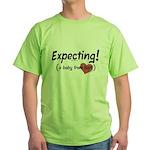 Expecting! Haiti adoption Green T-Shirt