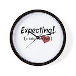 Expecting! Haiti adoption Wall Clock