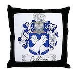 Pellicani Family Crest Throw Pillow