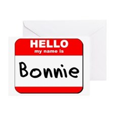 Hello my name is Bonnie Greeting Cards (Pk of 10)