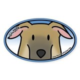 Anime Chinook Oval Decal