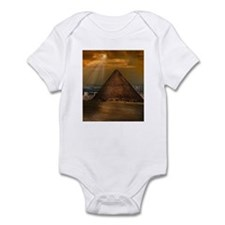 Cute Pyramids giza Infant Bodysuit