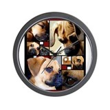 Puggle Parts Wall Clock