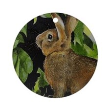 On Sale Bunny Ornament (Round)