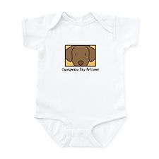 Anime Chesapeake Bay Retriever Infant Bodysuit