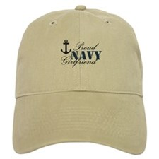 Navy Girlfriend Baseball Cap
