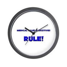 Medical Sales Executives Rule! Wall Clock