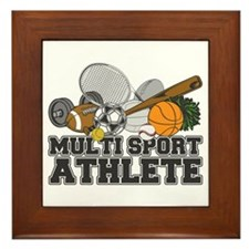 Multi-Sport Athlete Framed Tile