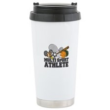 Multi-Sport Athlete Ceramic Travel Mug