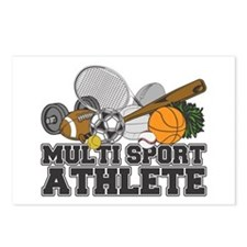 Multi-Sport Athlete Postcards (Package of 8)