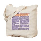 Farewell Sermon Tote Bag