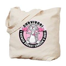 BC Survivor: Boxing Cat Tote Bag