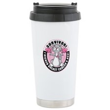 BC Survivor: Boxing Cat Ceramic Travel Mug