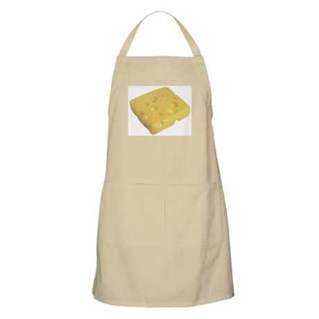 Some Swiss Cheese On Your BBQ Apron