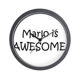Cool Name is marlo Wall Clock