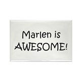 Marlene Rectangle Magnet (100 pack)