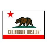California Hustlin' Postcards (Package of 8)