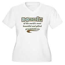 Grammie of Gifted Grandchildren T-Shirt