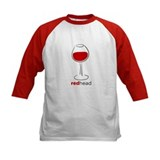 Red Head Wine Lover Tee