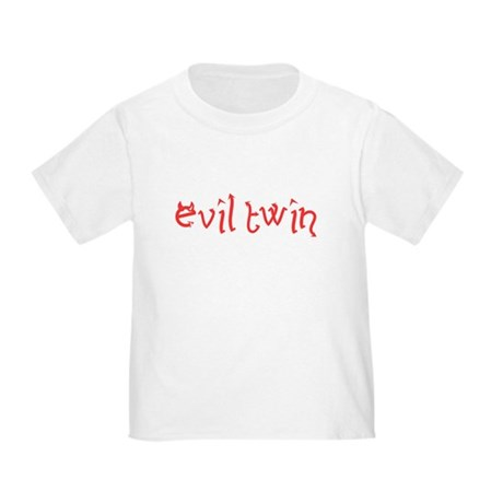Evil Twin Toddler T-Shirt