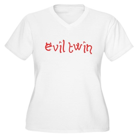 Evil Twin Plus Size V-Neck Shirt