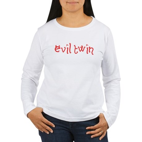 Evil Twin Womens Long Sleeve T-Shirt