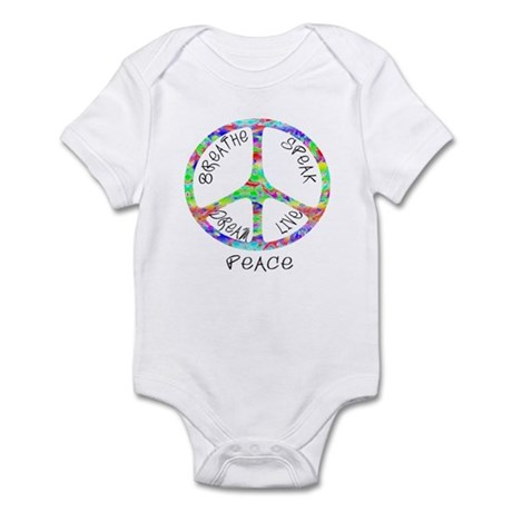 Live Peace Infant Bodysuit