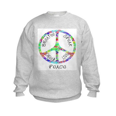 Live Peace Kids Sweatshirt