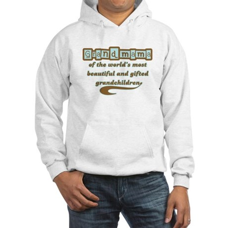 Grandmama of Gifted Grandchildren Hooded Sweatshir