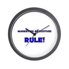 Marketing Executives Rule! Wall Clock