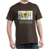 US Virgin Islands Flag T-Shirt