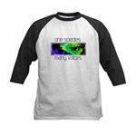 One Species Many Voices Kids Baseball Jersey