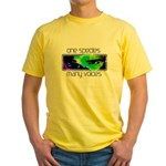 One Species Many Voices Yellow T-Shirt