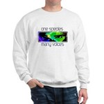 One Species Many Voices Sweatshirt