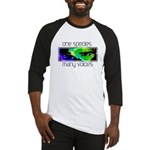 One Species Many Voices Baseball Jersey