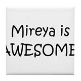 Funny Mireya Tile Coaster