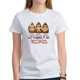 See Speak Hear No Lung Cancer 2 Tee